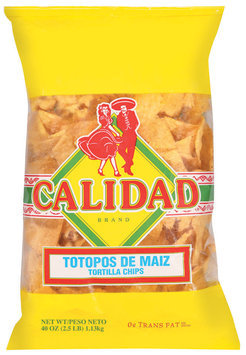 Calidad  Tortilla Chips 40 Oz Bag