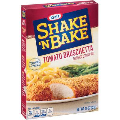 Kraft Shake 'n Bake Tomato Bruschetta Seasoned Coating Mix 4.5 oz. Box