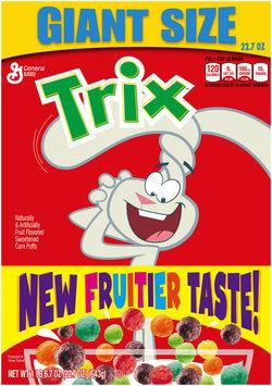 Trix® Cereal 22.7 oz. Box