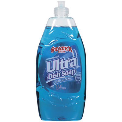 Stater Bros. Ultra Concentrated Original Dish Soap 24 Oz Plastic Bottle