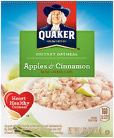 Quaker Life® Apples & Cinnamon Instant Oatmeal