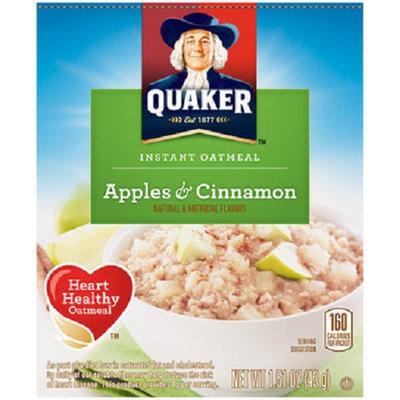 Quaker Life® Apples & Cinnamon Instant Oatmeal