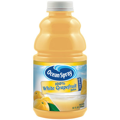 Ocean Spray® 100% White Grapefruit Juice Bar Pac™ Mixer 32 fl. oz. Bottle