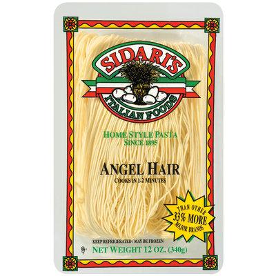 Sidari's Italian Foods  Angel Hair 12 Oz Tray