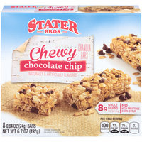 Stater Bros.® Chewy Chocolate Chip Granola Bars 8-0.84 oz. Bars