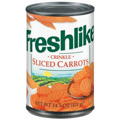 Freshlike Crinkle Sliced Carrots 14.5 Oz Can