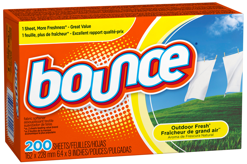 Bounce Outdoor Fresh Fabric Softener Sheets 200 ct Box