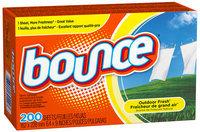 Bounce Outdoor Fresh Fabric Softener Sheets 200 ct Box