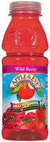 Apple & Eve Wild Berry W/Multivitamins Juice Cocktail 16 Fl Oz Plastic Bottle