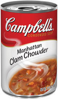 Campbell's Manhattan Clam Chowder R&W Condensed Soup 10.75 Oz Pull-Top Can
