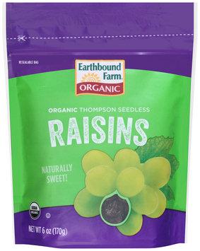 Earthbound Farm® Organic Thompson Seedless Raisins 6 oz. Pouch