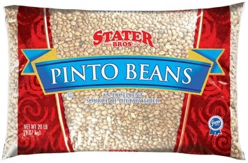 Stater Bros. Pinto Beans 20 Lb Bag