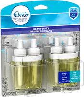 Noticeables Febreze NOTICEables Heavy Duty Crisp Clean Dual Oil Refills Air Freshener (2 Count, 1.75 Oz)