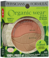 Physicians Formula® Organic Wear® Soft Ginger 2-in 1 Bronzer & Blush 0.4 Oz Peg