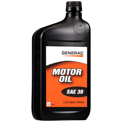 generac sae 30 motor oil 1 qt bottle reviews