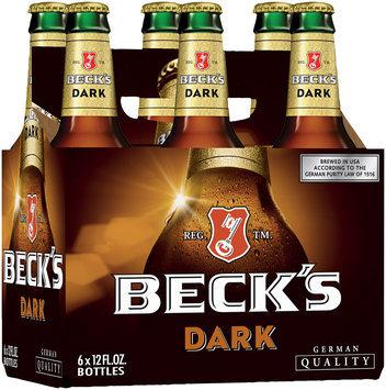 Beck's® Dark German Quality Beer 6-12 fl. oz. Bottles