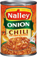 Nalley® Onion Chili con Carne with Beans 14 oz. Can