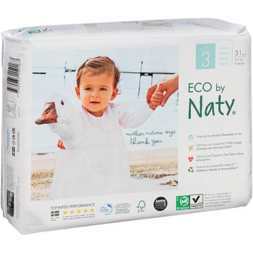Eco by Naty® Size 3 Diapers 31 ct Pack