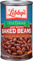 Libby's® Vegetarian Deep Brown Baked Beans 28 oz. Can