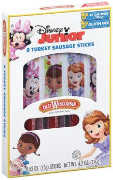 Old Wisconsin® Disney Junior 4.2 oz., 8-count Turkey Sausage Snack Sticks