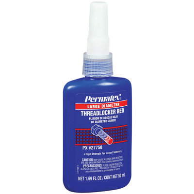 Permatex® Large Diameter Red Threadlocker 1.69 Fl Oz Bottle