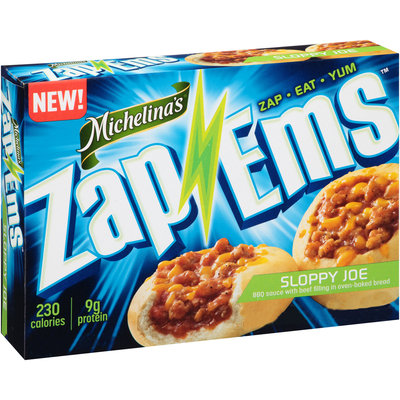 Michelina's® Zap 'Ems™ Sloppy Joe 4 oz. Box