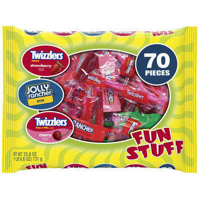 Hershey's Fun Stuff Fruit Flavored Candy