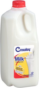Crowley® Homogenized Milk 1/2 gal. Jug