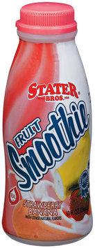 Stater Bros. Strawberry Banana Fruit Smoothie 10 Fl Oz Plastic Bottle