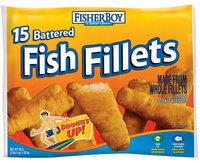 Fisher Boy Battered 36 Oz Fish Fillets 15 Ct Bag