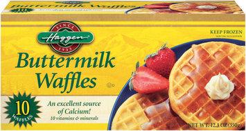 Haggen Buttermilk 10 Ct Waffles 12.3 Oz Box