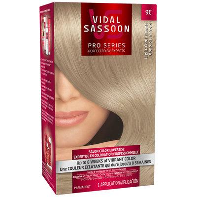Vidal Sassoon Pro Series 9C Light Cool Blonde Hair Color Kit
