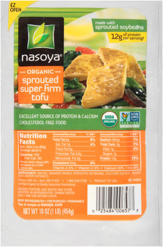 Nasoya® Organic Sprouted Super Firm Tofu 16 oz. Well