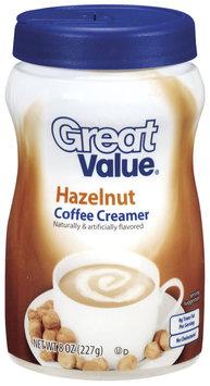 Great Value Hazelnut Coffee Creamer