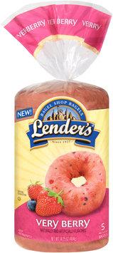 Lenders® Very Berry Bagels 14.25 oz. Bag