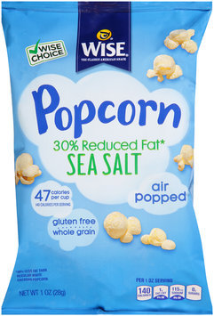 Wise® Sea Salt Popcorn 1 oz. Bag