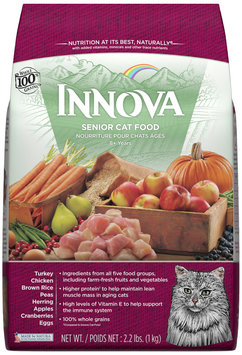 Innova Senior Cat Food 2.2 lb. Bag