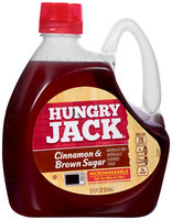 Hungry Jack® Cinnamon & Brown Sugar Syrup 27.6 fl oz. Jug