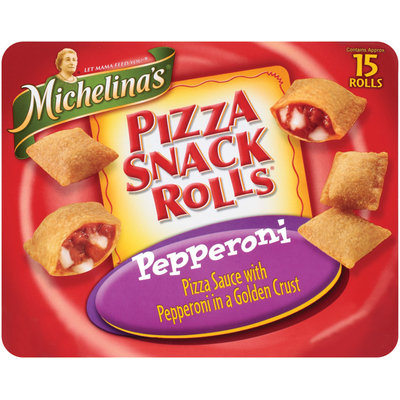 Michelina's Snack Rolls  Pepperoni 15 Ct Box