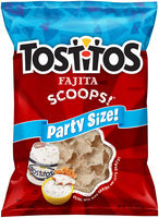 Tostitos® Fajita Flavored Scoops Party Size