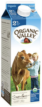 Organic Valley® Reduced Fat Organic Milk 32 fl. oz. Carton