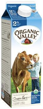 Organic Valley® Reduced Fat Organic Milk 32 fl. oz. Carton