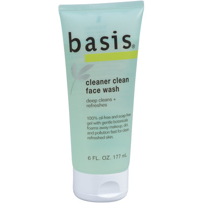 Basis® Cleaner Clean Face Wash 6 fl. oz. Tube