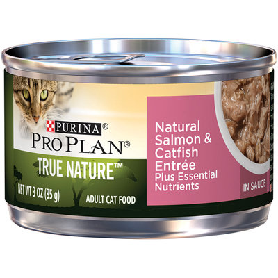 PRO PLAN® TRUE NATURE™ ADULT Natural Salmon & Catfish Entree In Sauce