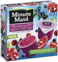 Minute Maid® Soft Frozen Pomegranate Blueberry Flavored Punch