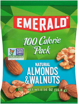 Emerald® 100 Calorie Pack Natural Almonds & Walnuts 0.56 oz. Pack