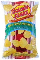 Golden Flake® No Salt Added Thin & Crispy Potato Chips 5 oz. Bag