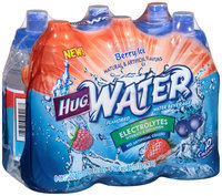 Hug™ Water Berry Ice Water Beverage 6-10 fl oz. Bottles