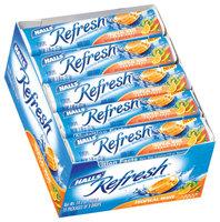 Halls Refresh Tropical Wave Sugar Free 9 Drops Hard Candy 15 Pk Tray