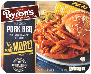 Byron's™ Pork BBQ with a Sweet & Spicy BBQ Sauce